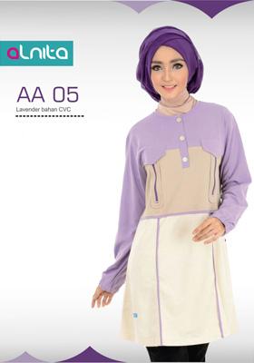 Atasan Alnita Lavender