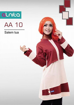 Baju Atasan Alnita AA 10 Salem