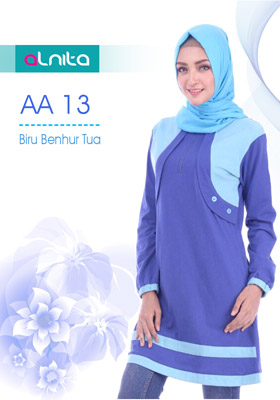 Atasan Alnita AA 13 Biru