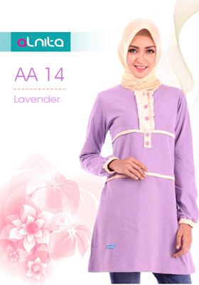 Atasan Alnita AA 14 Lavender