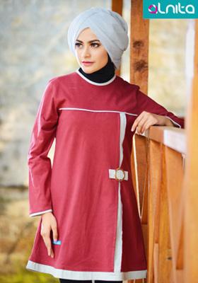 Baju Atasan Alnita Maroon