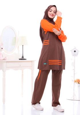 Alnita Asri 05 S Coklat Pramuka