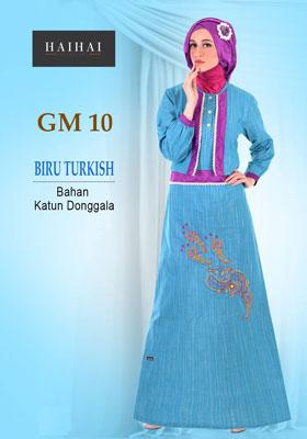 HaiHai GM 10 Biru