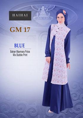 HaiHai GM 17 Biru