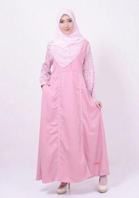 Nibras Gamis NB 142 Pink