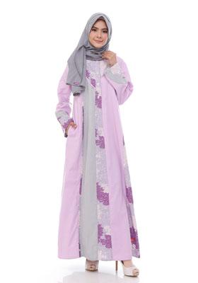 Nibras Gamis NB 176 Lavender