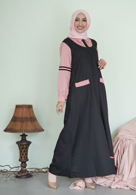 Nibras Gamis NB 196 Dusty Pink