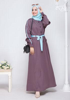 Nibras Gamis NB 199 Vintage Purple