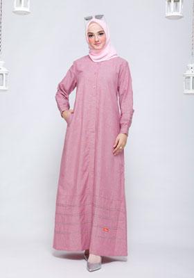 Nibras Gamis NB 200 Pink