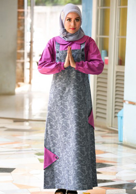 Nibras Gamis NB 86 Overall Jeans