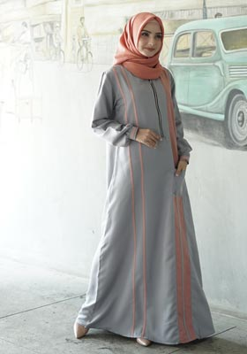 Nibras Gamis NB A01 Abu Muda