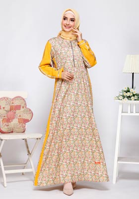 Nibras Gamis NB A04 Olive