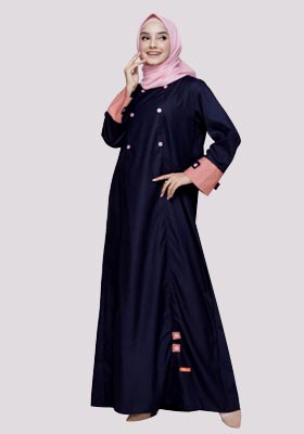 Nibras Gamis NB A08 Navy