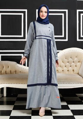 Nibras Gamis NB A10 Navy