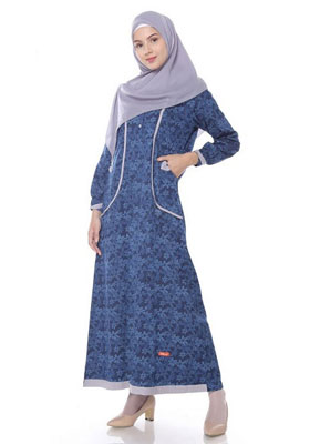 Nibras Gamis NB A31 Navy