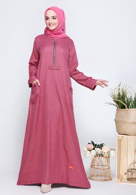 Gamis Nibras Basic NBC 12 Fanta Two Tone