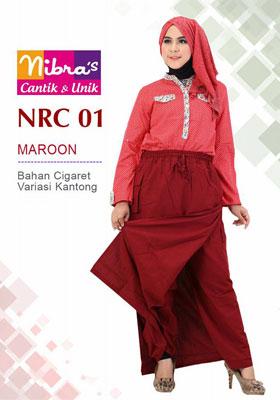 Rok Celana NRC 01 Marun