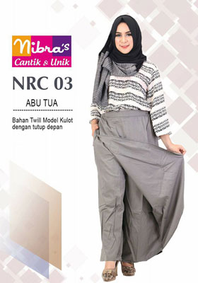 Rok Celana NRC 03 Abu Tua