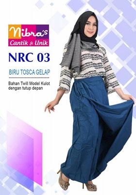 Rok Celana NRC 03 Biru Toska