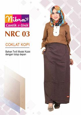 Rok Celana NRC 03 Coklat Kopi
