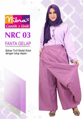 Rok Celana NRC 03 Fanta Gelap