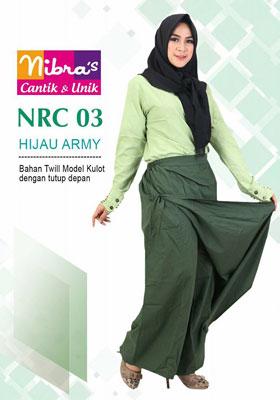 Rok Celana NRC 03 Hijau Army