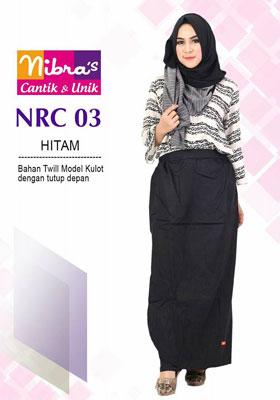Rok Celana NRC 03 Hitam