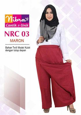 Rok Celana NRC 03 Marun
