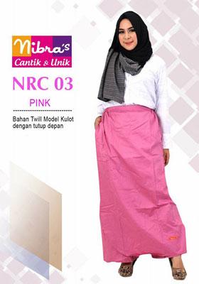 Rok Celana NRC 03 Pink