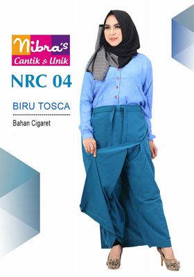 Rok Celana NRC 04 Biru Toska