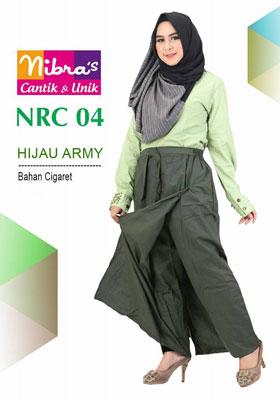 Rok Celana NRC 04 Hijau Army