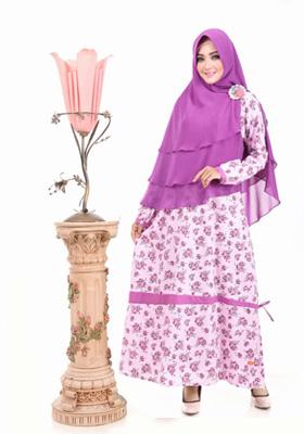 Nibras Syar'i NS 11 Pink