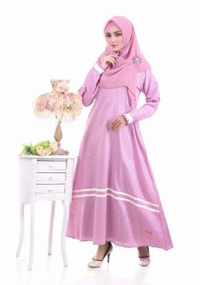 Nibras Syar'i NS 13 Pink