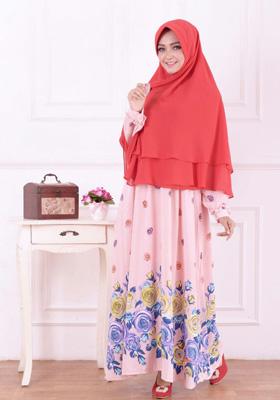 Nibras Syar'i NS 17 Pink