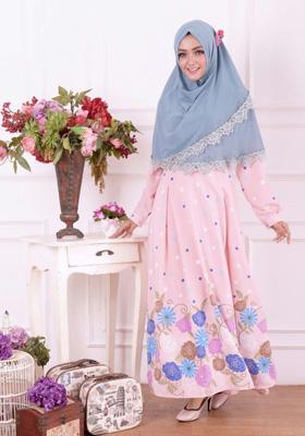 Nibras Syar'i NS 18 Pink