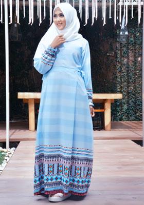 Nibras Syar'i NS 26 Biru Muda