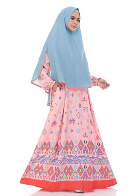Nibras Syar'i NS 40 Pink