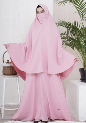Nibras Syar'i NS 50 Pink