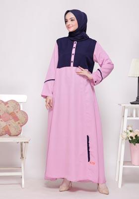 Nibras Syar'i NS 54 Pink