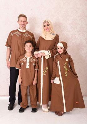 Nibras Sarimbit Keluarga SK 38 Coklat