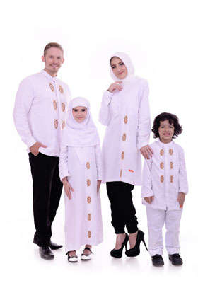Baju Muslim Lebaran 2017 Nibras Sarimbit Keluarga Sk 39