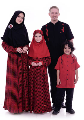 Nibras Sarimbit Keluarga SK 46 Merah