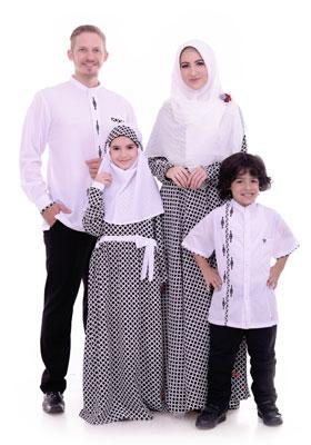 Nibras Sarimbit Keluarga SK 46 Putih