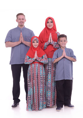 Nibras Sarimbit Keluarga SK 47 Abu