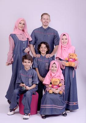 Nibras Sarimbit Keluarga SK 51 Pink