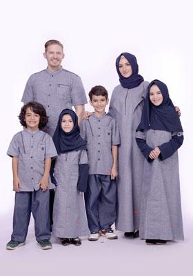 Nibras Sarimbit Keluarga SK 54 Navy