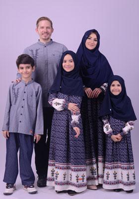 Nibras Sarimbit Keluarga SK 55 Navy