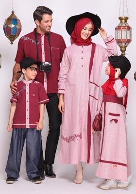 Nibras Sarimbit Keluarga SK 57 Marun