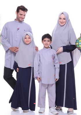Nibras Sarimbit Keluarga SK 63 Navy