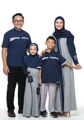 Nibras Sarimbit Family SK 67 Navy